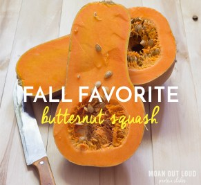 #whattoeatwednesday – Butternut Squash