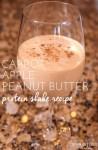 Carrot Apple Peanut Butter Protein Shake