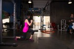 Walking Lunges and Raise Back Leg