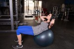 Crunches and Twist on Ball