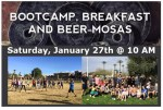 STS Bootcamp, Breakfast and Beer-mosas – Jan. 27th